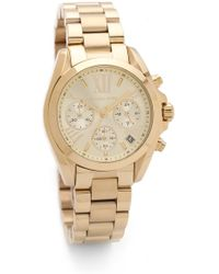 Michael Kors Bradshaw Watch - Gold gold - Lyst