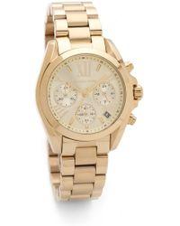 Michael Kors Bradshaw Watch - Gold - Lyst