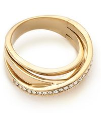 Michael Kors - Brilliance Intertwined Ring - Lyst