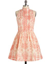 ModCloth A Little Bit Indie Rock Dress - Lyst