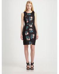 Sachin & Babi Evita Floral Strapless Dress - Lyst