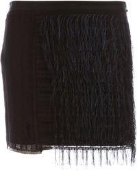 Sharon Wauchob - Embroidered Fringe Skirt - Lyst