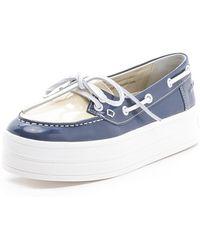 Sonia Rykiel - Platform Boat Shoes - Lyst
