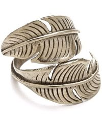 Sunahara - Feather Wrap Ring - Lyst