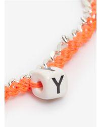 Venessa Arizaga - 'love You' Necklace - Lyst
