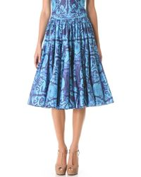 Vera Wang Collection - Dancing Skirt - Lyst