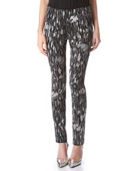 Wes Gordon - Embroidered Tulle Cigarette Pants - Lyst