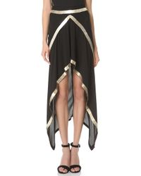 Willow - Metal Spine Skirt - Lyst