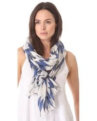 Yarnz Fruits Vegetables Scarf - Lyst
