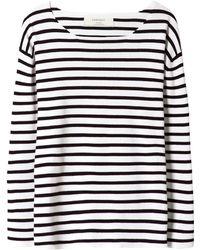 Zara Striped Sweater - Lyst