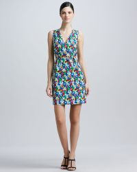 Kate Spade Mira Floral-print Sleeveless Dress - Lyst