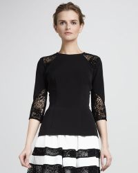 Nha Khanh - Double-faced Georgette Top - Lyst