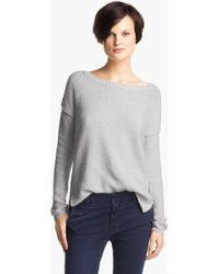 Vince Boatneck Sweater - Lyst