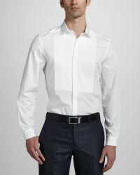 Versace Long Sleeve Dress Shirt - Lyst
