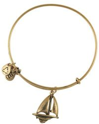 ALEX AND ANI - Sailboat Bangle - Lyst