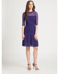 M Missoni Textured Knit Dress - Lyst
