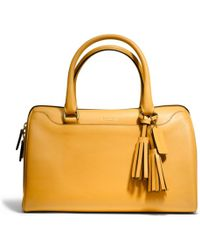 Coach Legacy Leather Haley Satchel - Lyst