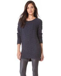 Donna Karan New York Long Sleeve Sweater - Lyst