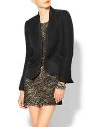 Haute Hippie Blazer with Silk Faille - Lyst