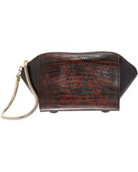 Alexander Wang - Lizardembossed Chastity Cosmetics Case - Lyst