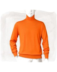 Hermes Cashmere Turtleneck Sweater - Lyst