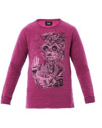 Marc Jacobs P Bastprint Sweatshirt - Lyst