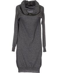 Altea - Short Dress - Lyst