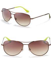 "Kate Spade Kate Spade ""Ally"" Petite Aviator Sunglasses - Lyst"