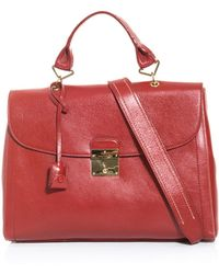 Marc Jacobs The Leather Satchel - Lyst
