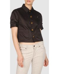 Ralph Lauren Blazer brown - Lyst
