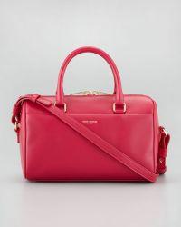 Saint Laurent Classic Duffel 3 Bag Pink - Lyst