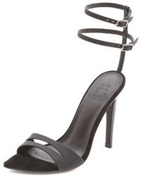 Tibi Mia Sandals with Ankle Straps - Lyst