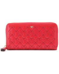 Anya Hindmarch Large Wilkes Leather Wallet - Lyst
