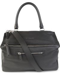 Givenchy Pandora Medium Grainy Leather Satchel Bag - For Women - Lyst