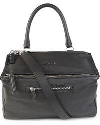 Givenchy Pandora Medium Grainy Leather Satchel - Lyst