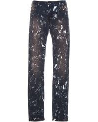 IRO Reighton Printed Skinny Jeans - Lyst