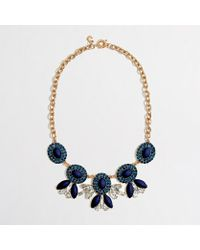 J.Crew Factory Cameo Chandelier Necklace - Lyst