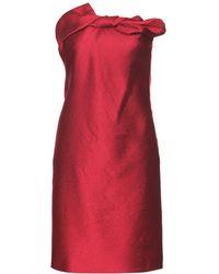 Lanvin Cocktail Dress - Lyst