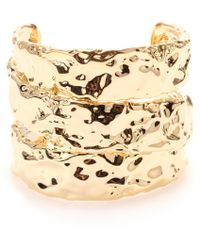 Marc By Marc Jacobs - Textured Cuff Bracelet - Lyst