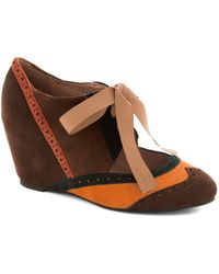 Jeffrey Campbell Viceroy Oh Boy Wedge - Lyst