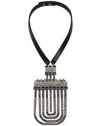 Lanvin - Dedale Collar Pendant Necklace - Lyst