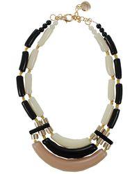 Pono - Resin Metallic Bead Necklace - Lyst