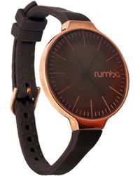 Rumbatime - Orchard Gold Chocolate Watch - Lyst