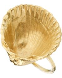 Daisy Knights - Large Shell Ring - Lyst