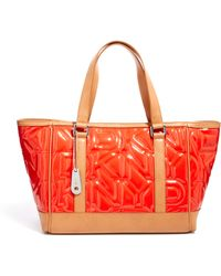 DKNY Active - Quilted Logo Shopper Bag - Lyst