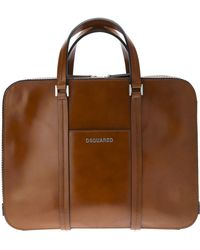 DSquared² Leather Tote - Lyst