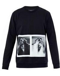 Givenchy Double Madonna print Sweatshirt black - Lyst