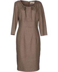 Mine - Kneelength Dress - Lyst