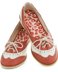 ModCloth Amalgam Of The Year in Coral - Lyst