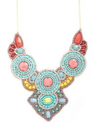 ModCloth Weve Got The Beads Necklace - Lyst